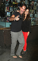 NEW YORK CITY,NY - August 08, 2012:  Ricky Paull Goldin and Vanessa Marcil at The Magnolia Pictures screening of 2 Days in New York at The Landmark Sunshine Cinema in New York City. &copy; RW/MediaPunchInc.. /Nortephoto.com<br />
