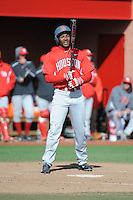 University of Houston Cougars outfielder Ashford Fulmer (23) during game game 2 of a double header against the Rutgers Scarlet Knights at Bainton Field on April 5, 2014 in Piscataway, New Jersey. Houston defeated Rutgers 9-1.      <br />  (Tomasso DeRosa/ Four Seam Images)