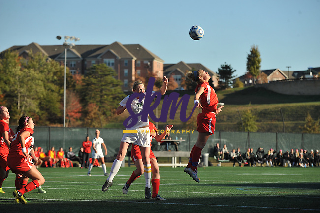 Stevenson women's soccer celebrated senior day with a 4-1 win over Albright at Mustang Stadium on Saturday evening.