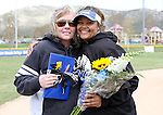 Briauna Carter at the Sophomore Day celebration after the first game of the Western Nevada College softball doubleheader on Saturday, April 30, 2016 at Pete Livermore Sports Complex. Photo by Shannon Litz/Nevada Photo Source