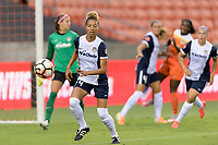 Houston, TX - Saturday July 15, 2017: Estelle Johnson during a regular season National Women's Soccer League (NWSL) match between the Houston Dash and the Washington Spirit at BBVA Compass Stadium.