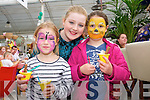 Caoimhe Roche, Sophia Bell and Roisin Bell. enjoying the Ballyseedy Garden Centre Family fun Day in aid of the Home to Rome Cycle on Sunday
