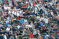 Spectators look on from the terrace during Yorkshire CCC vs Essex CCC, Specsavers County Championship Division 1 Cricket at Scarborough CC, North Marine Road on 6th August 2017