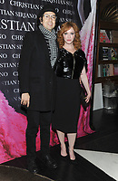 NEW YORK, NY - NOVEMBER 08: Christina Hendricks and Geoffrey Arend attend the release of Christian Siriano's  book 'Dresses To Dream About' at the Rizzoli Flagship Store on November 8, 2017 in New York City.  <br /> CAP/MPI/JP<br /> &copy;JP/MPI/Capital Pictures
