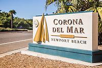 Corona Del Mar Signage Newport Beach