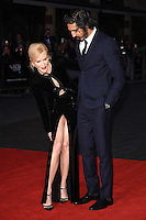 LONDON, UK. October 12, 2016: Nicole Kidman &amp; Dev Patel at the London Film Festival 2016 premiere of &quot;Lion&quot; at the Odeon Leicester Square, London.<br /> Picture: Steve Vas/Featureflash/SilverHub 0208 004 5359/ 07711 972644 Editors@silverhubmedia.com
