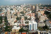 Vista &aacute;erea de la ciudad de Santo Domingo en la zona de los cacicazgos. <br /> Santo Domingo, Rep&uacute;blica Dominicana. 27 Octubre de 2010. Foto: &copy; Cesar De La Cruz.