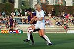 FC Barcelona vs Montpellier HSC: 1-2.<br /> Vicky Losada vs Sarah Puntigan.