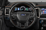 Car pictures of steering wheel view of a 2016 Ford Ranger Wildtrak 4 Door Pickup Steering Wheel