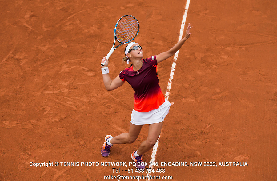 KIRSTEN FLIPKENS (BEL)<br /> <br /> TENNIS - FRENCH OPEN - ROLAND GARROS - ATP - WTA - ITF - GRAND SLAM - CHAMPIONSHIPS - PARIS - FRANCE - 2016  <br /> <br /> <br /> <br /> &copy; TENNIS PHOTO NETWORK