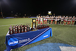 SALEM, VA - DECEMBER 3:Washington St. Louis was awarded the National Championship trophy after winning theDivision III Women's Soccer Championship held at Kerr Stadium on December 3, 2016 in Salem, Virginia. Washington St Louis defeated Messiah 5-4 in PKs for the national title. (Photo by Kelsey Grant/NCAA Photos)
