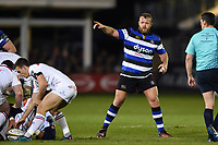 Scott Andrews of Bath Rugby. Anglo-Welsh Cup match, between Bath Rugby and Leicester Tigers on November 10, 2017 at the Recreation Ground in Bath, England. Photo by: Patrick Khachfe / Onside Images