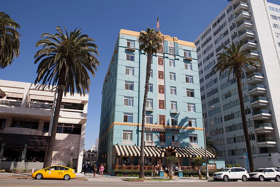 The landmark Georgian Hotel, Santa Monica, California, CA, USA