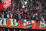 03.11.2019, Merkur Spielarena, Duesseldorf , GER, 1. FBL,  Fortuna Duesseldorf vs. 1. FC Koeln,<br />  <br /> DFL regulations prohibit any use of photographs as image sequences and/or quasi-video<br /> <br /> im Bild / picture shows: <br /> Ultras Koeln <br /> <br /> Foto © nordphoto / Meuter