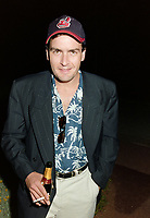 ARCHIVE: CANNES, FRANCE. c. May 1991: Charlie Sheen at the Cannes Film Festival.<br /> File photo © Paul Smith/Featureflash