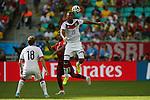 Jerome Boateng (GER), <br /> JUNE 16, 2014 - Football /Soccer : <br /> 2014 FIFA World Cup Brazil <br /> Group Match -Group G- <br /> between  Germany 4-0 Portugal <br /> at Arena Fonte Nova, Salvador, Brazil. <br /> (Photo by YUTAKA/AFLO SPORT)
