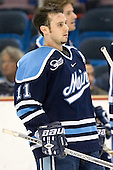 Michel Leveille - The University of Maine Black Bears defeated the Michigan State University Spartans 5-4 on Sunday, March 26, 2006, in the NCAA East Regional Final at the Pepsi Arena in Albany, New York.