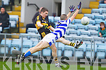 Daithi Casey Dr. Crokes in action against Chris Hayes Castlehaven in the Munster Senior Club Final at Pairc Ui Caoimh on Sunday