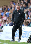 Sheffield United's Chris Wilder in action during the League One match at the Priestfield Stadium, Gillingham. Picture date: September 4th, 2016. Pic David Klein/Sportimage