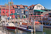 Bowen's Wharf, Newport, RI, Rhode Island, USA