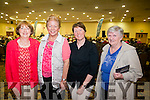Patricia O' Sullivan, Kathleen Collins, Helan O'Keefe and Margaret Roche enjoy a night out at theRadio Kerry All  Irish Music Concert at the Brandon Hotel