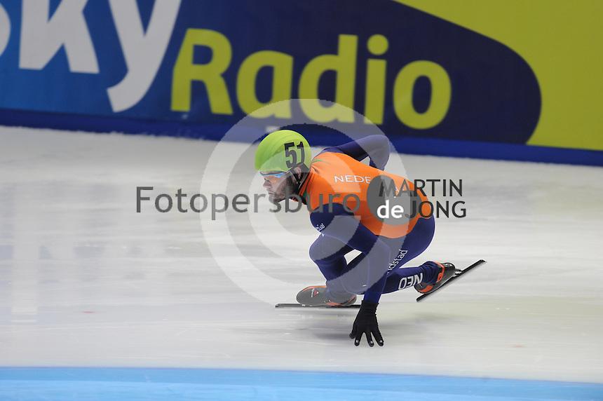 SHORTTRACK: DORDRECHT: Sportboulevard Dordrecht, 23-01-2015, ISU EK Shorttrack, Sjinkie KNEGT (NED | #51), ©foto Martin de Jong