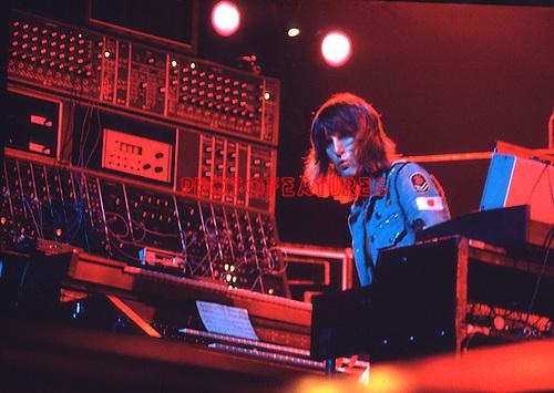 ELP 1970's Keith Emerson<br /> &copy; Chris Walter