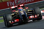 Romain Grosjean (FRA) Lotus Renault F1 Team<br />  Foto © nph / Mathis