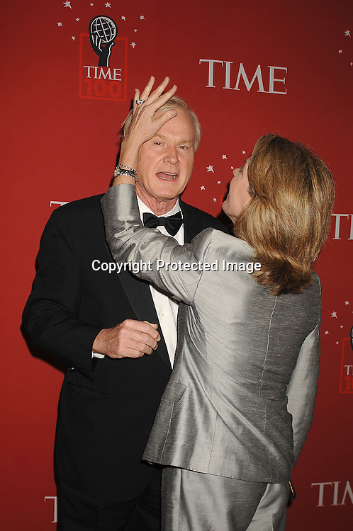 Chris Matthews and wife Kathleen..arriving at The Time's 100 Most Influential People in the world on May 8, 2007 at Jazz at Lincoln Center atThe Time Warner Center in New York City. ..Robin Platzer, Twin Images......212-935-0770