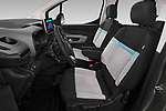 Front seat view of a 2019 Citroen Berlingo Feel 5 Door MPV front seat car photos