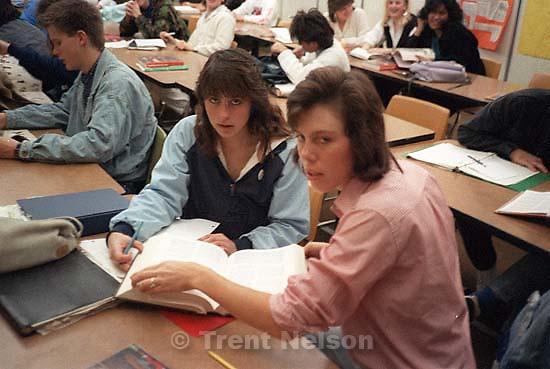 Jill Pace and teacher. at left, Chris Olsen; San Ramon, CA<br />