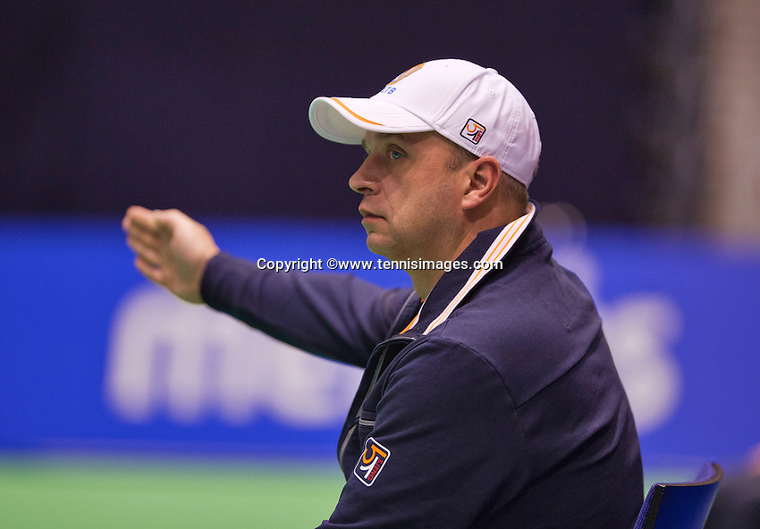 December 17, 2014, Rotterdam, Topsport Centrum, Lotto NK Tennis, Linesman<br /> Photo: Tennisimages/Henk Koster