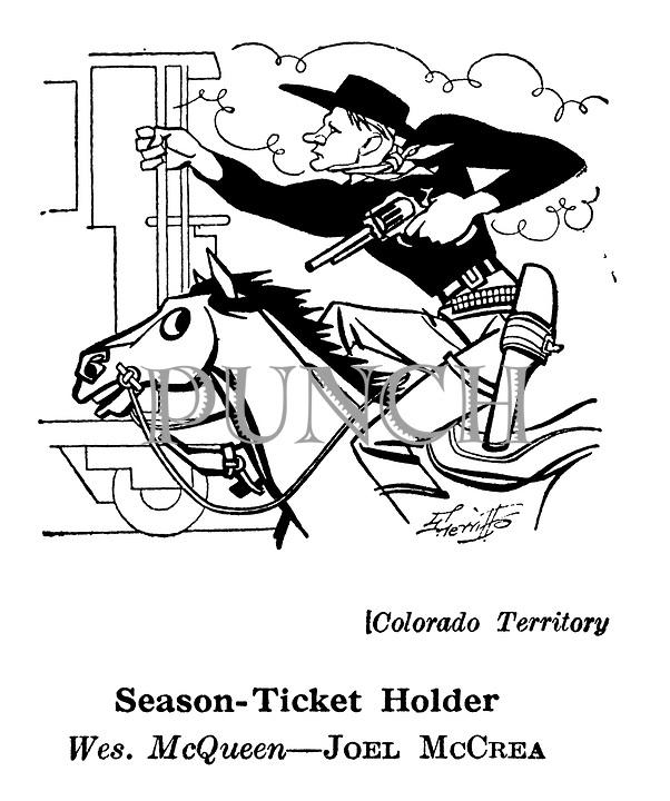 Colorado Territory ; Joel McCrea