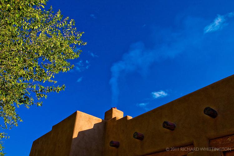 El Prado on a crisp fall morning.