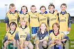 The Derrynane U8 team who took part in the Blitz in Waterville were front l-r, Zac O'Farrell, Patrick O'Hare, Siofra O'Shea, Stephen O'Sullivan, back l-r, Ben O'Carroll, Maria O'Sullivan, Jordan O'Sullivan, Eilis Galvin, Abbey O'Sullivan & Iarla O'Shea.