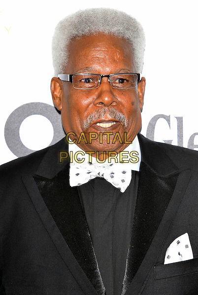 EDDIE FLOYD.Glenfiddich Mojo Honours List Awards 2011 at The Brewery, London - 21st July 2011.headshot portrait black white bow tie glasses.CAP/ROS.©Steve Ross/Capital Pictures