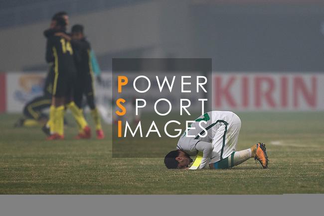 Saudi Arabia vs Malaysia during the AFC U23 Championship China 2018 Group C match at Kunshan Sports Center on 16 January 2018, in Kunshan, China. Photo by He Wang / Power Sport Images