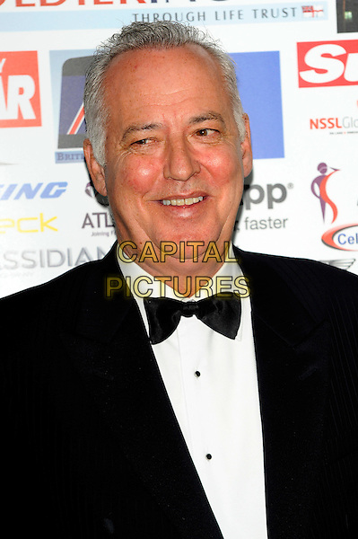 Michael Barrymore.Attends the second annual Soldiering on Awards 2012 and charity auction organised by members of the armed forces and BLESMA (British Limbless Ex Service Menís Association).  Awards are handed out to recognise the bravery and professionalism of troops..Waldorf Astoria Hotel, London Syon Park, London, England..March 25th, 2012.headshot portrait black white bow tie tuxedo.CAP/CJ.©Chris Joseph/Capital Pictures.