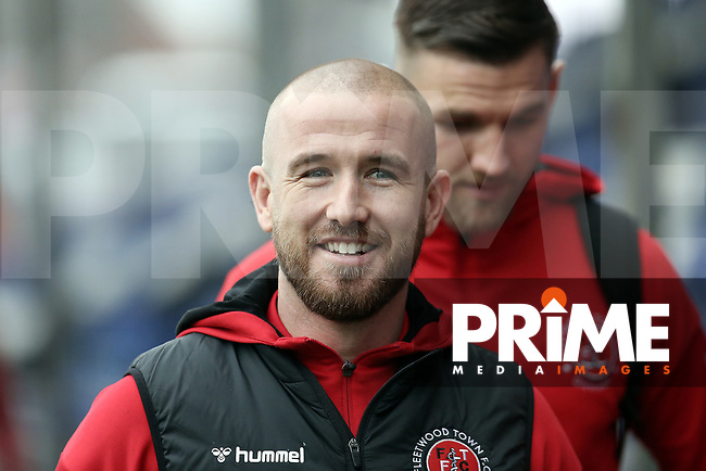 Patrick Madden of Fleetwood Town before the Sky Bet League 1 match between Bristol Rovers and Fleetwood Town at the Memorial Stadium, Bristol, England on 25 January 2020. Photo by Dave Peters / PRiME Media Images.