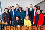 Pictured at the launch of the Kerry Expo at the Bon Secours Hospital Tralee, on Thursday, February 22nd last were front l-r: Liz Maher (Kerry Expo) and Elin Sorensen (Kerry Expo). Back l-r: Aoife O'Reilly (South Kerry Development), Adrien King (Red Chair Recruitment), Shane Walsh (JRI), Nick Belton (Borg Warner), Bridget Fitzgerald (Kerry County Council), John O'Sullivan (Lee Strand), TJ O'Connor (Bon Secours Hospital Manager), Brendan Kennelly (Marketing Manager, Kerry's Eye Newspaper) and Mairead O'Sullivan (South Kerry Development).