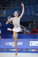 August 30, 2017 - Pesaro, Italy - EVITA GRISKENAS of USA at 2017 World Championships Pesaro, Italy.