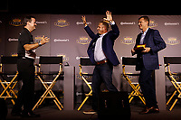 2018 Continental Tire SportsCar Challenge Awards, <br /> Travis Roffler, Owen Trinkler, Hugh Plumb