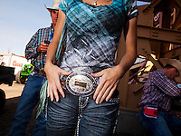 Buckle Bunny, The Pendleton RoundUp is the largest outdoor rodeo in the world,