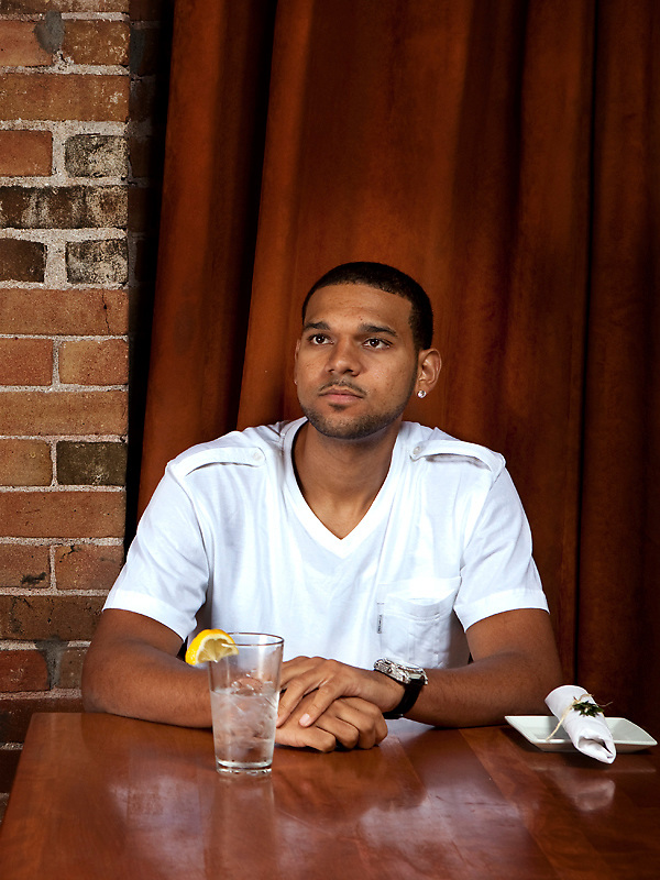 Phoenix Suns rookie Jared Dudley.<br /> <br /> Shot for 944 Magazine