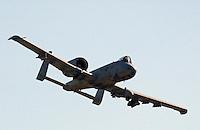 "A-10 ""Warthog"" fly-by"