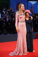 Director Ana Lily Amirpour and actress Suki Waterhouse attend the premiere of 'The Bad Batch' during the 73rd Venice Film Festival at Sala Grande on September 6, 2016 in Venice, Italy.<br /> CAP/GOL<br /> &copy;GOL/Capital Pictures /MediaPunch ***NORTH AND SOUTH AMERICAS ONLY***