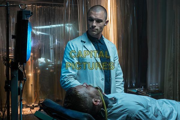 Deadpool (2016)      <br /> Ryan Reynolds &amp; Ed Skrein                       <br /> *Filmstill - Editorial Use Only*<br /> CAP/KFS<br /> Image supplied by Capital Pictures