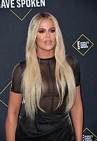 SANTA MONICA, USA. November 11, 2019: Khloe Kardashian at the 2019 E! People's Choice Awards at Santa Monica Barker Hangar.<br /> Picture: Paul Smith/Featureflash