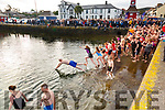 A great turn out for the Aidan Walsh Memorial New Years Day Swim in Knightstown with all money raised going to the RNLI.