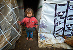 A refugee child from Syria in the village of Jeb Jennine, in Lebanon's Bekaa Valley. Many refugee families in the area are being assisted by International Orthodox Christian Charities and other members of the ACT Alliance.
